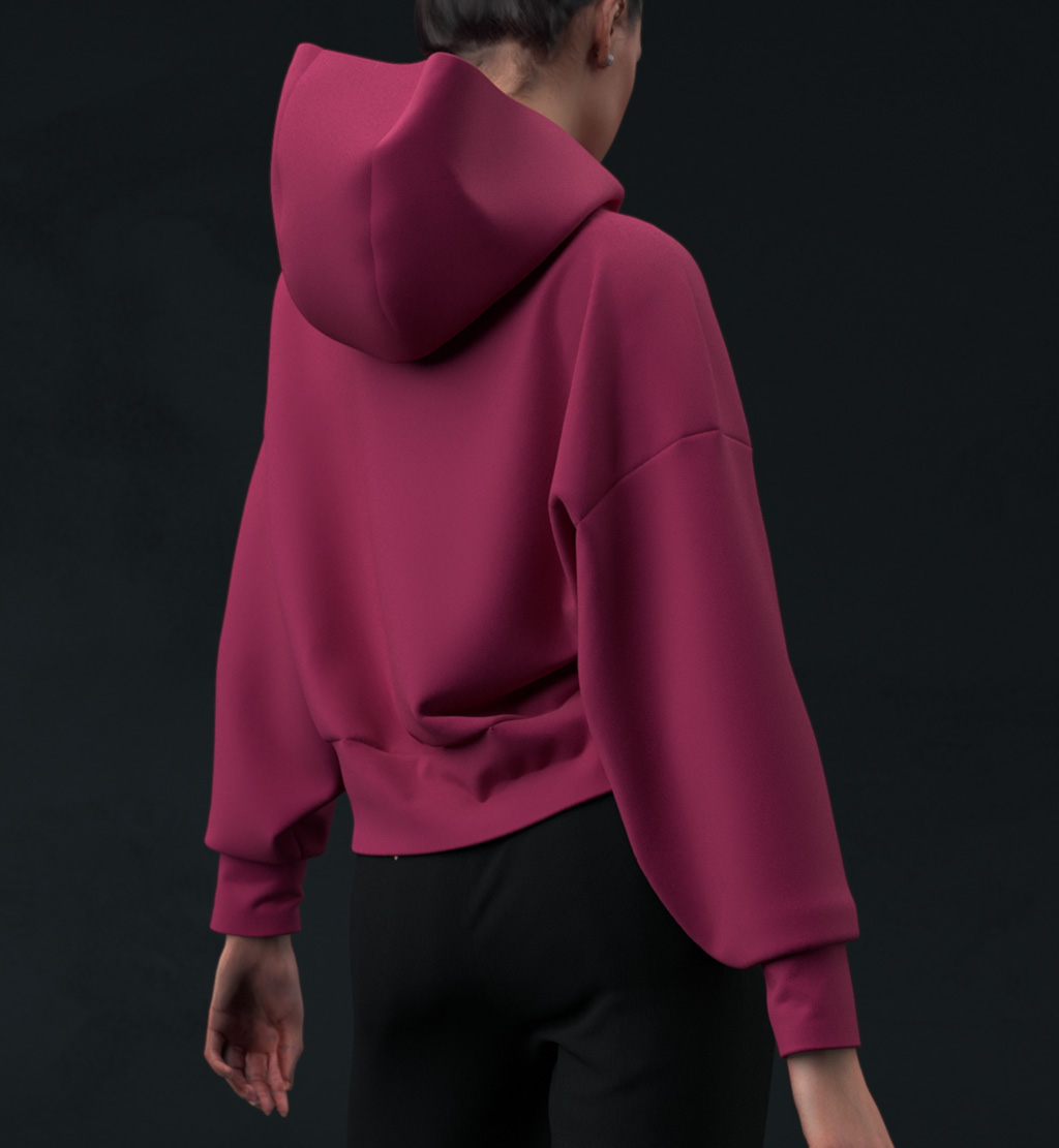 Virtual sweatshirt